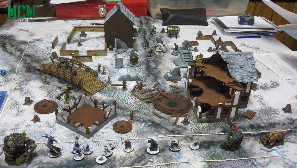 Demoing Frostgrave and other miniatures games