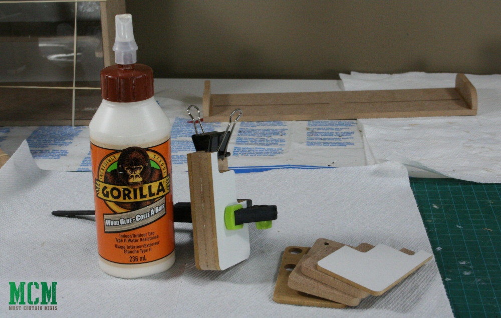 Construing an IPad Holder for your Miniature Hobby Area