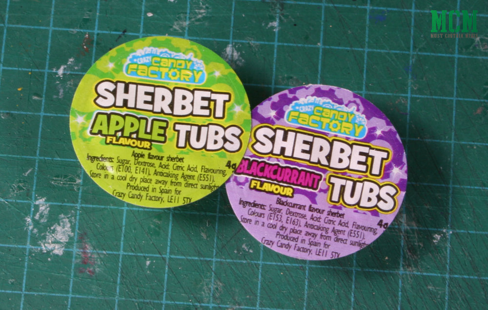 Sherbet Candy Tubs