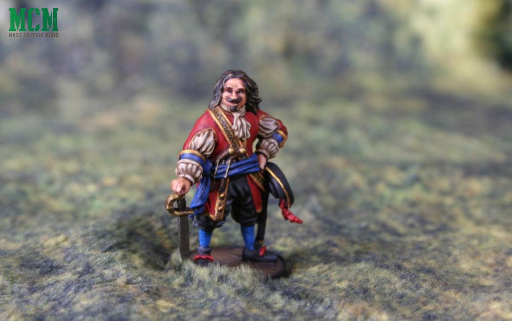Pirate Captain Miniature