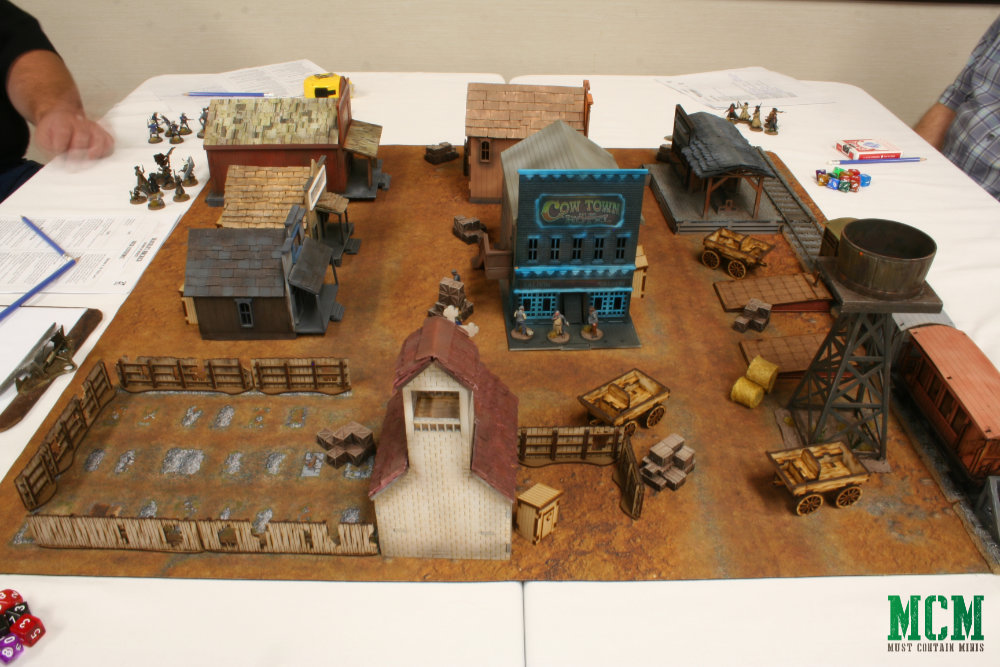 Dracula's America Battle Report and Terrain Picture