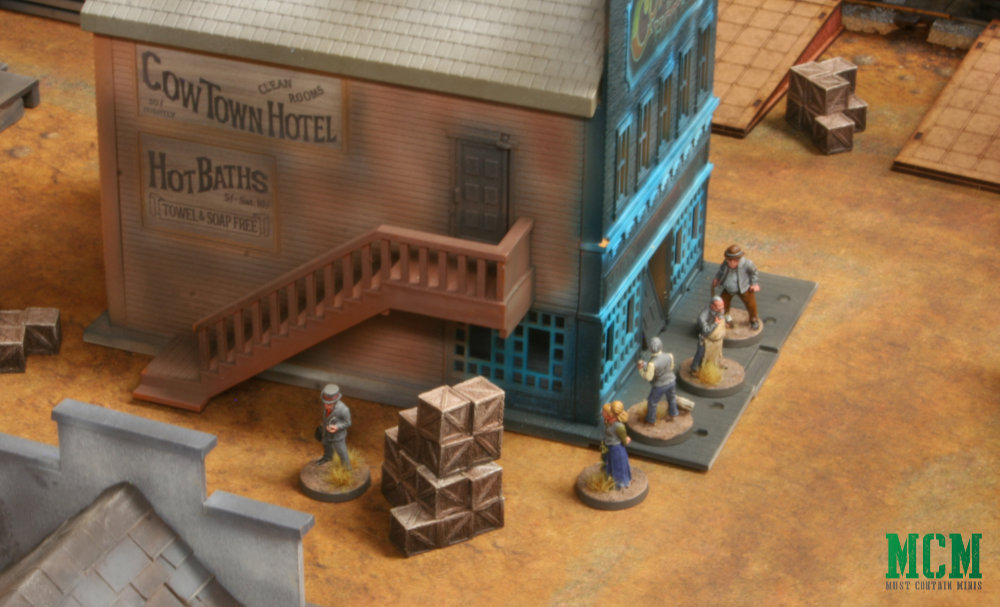 Civilians in miniatures Games