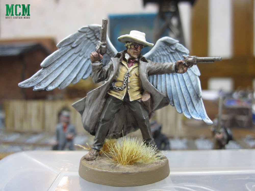 Dracula's America Painted Miniatures - Gunman Angel
