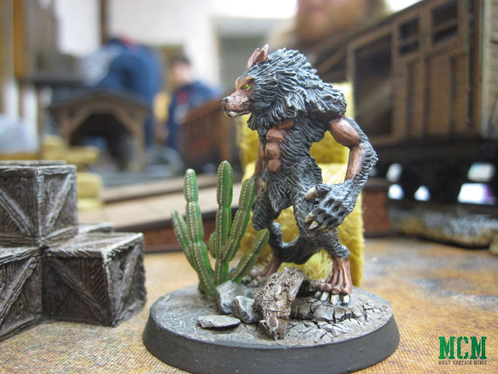 Dracula's America Painted Miniatures - werewolf