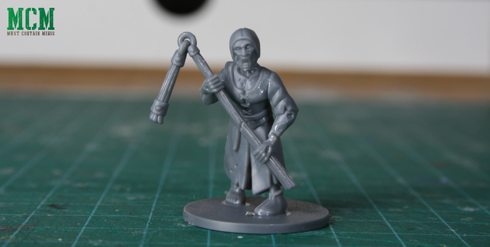 Living Dead Peasant with a two handed flail