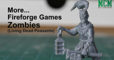 Undead Zombies 28mm miniature review
