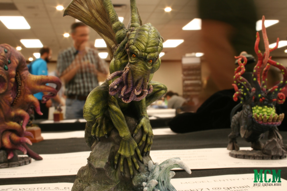 Great Cthulhu Miniature by Fernis Games - resin model
