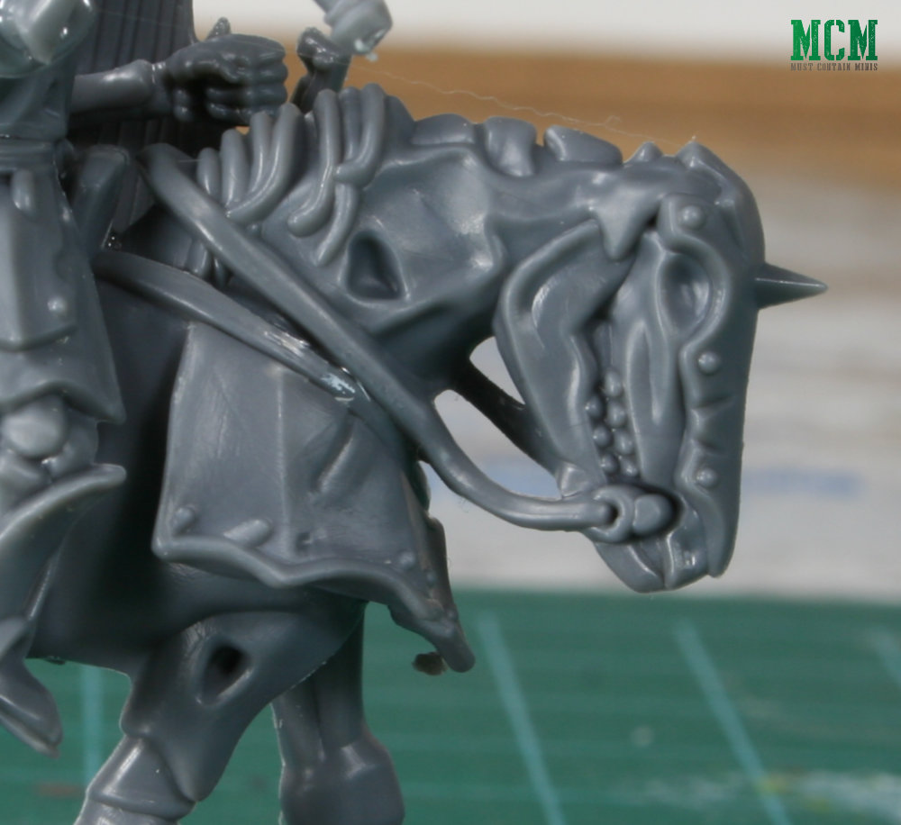 Zombie Horse 28mm review - Forgotten World Miniatures
