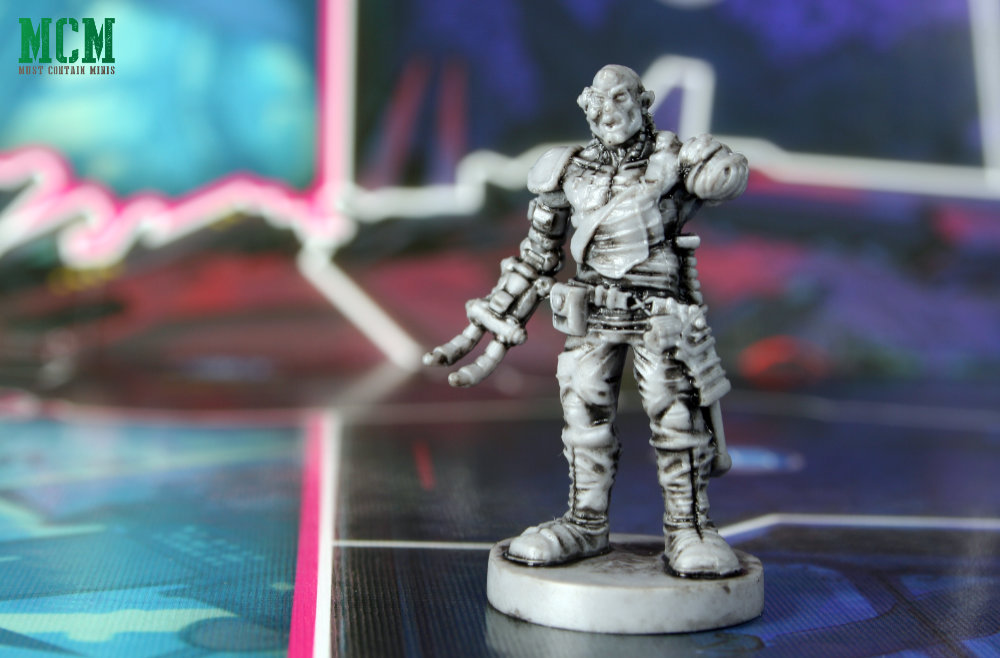 Mean Machine Judge Dredd Miniature for Osprey Games Board Game