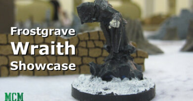 Frostgrave Wraith Miniature by North Star Military Figures - painted showcase