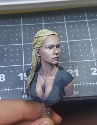 Nutsplanet Mother of Dragons Bust - WIP