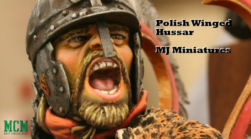 Polish Winged Hussar Painted Bust Showcase by MJ Miniatures