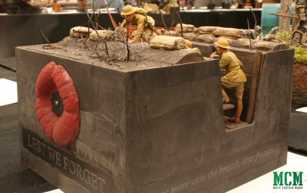 British Infantry before the attack, World War One Era - Master Box Ltd Diorama