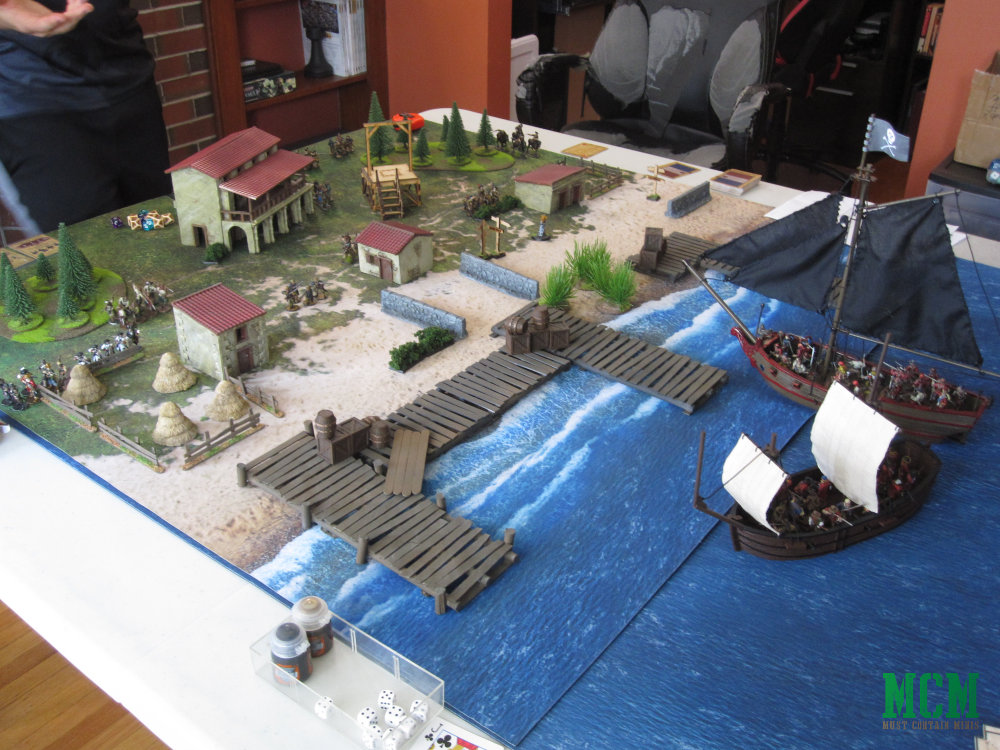 Blood and Plunder Terrain and Battle Table