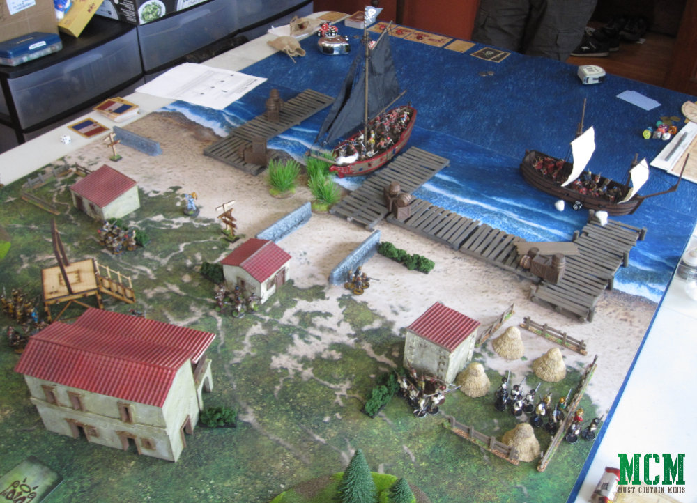 Blood and Plunder Battle Table