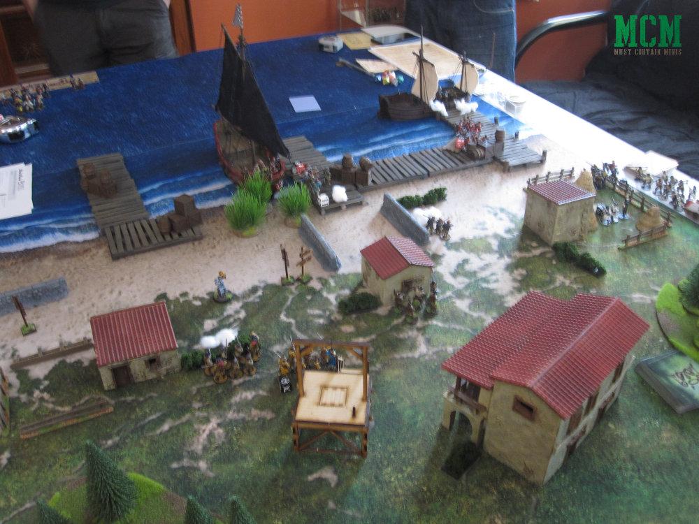 Battle Report 28mm Miniature Pirates Game