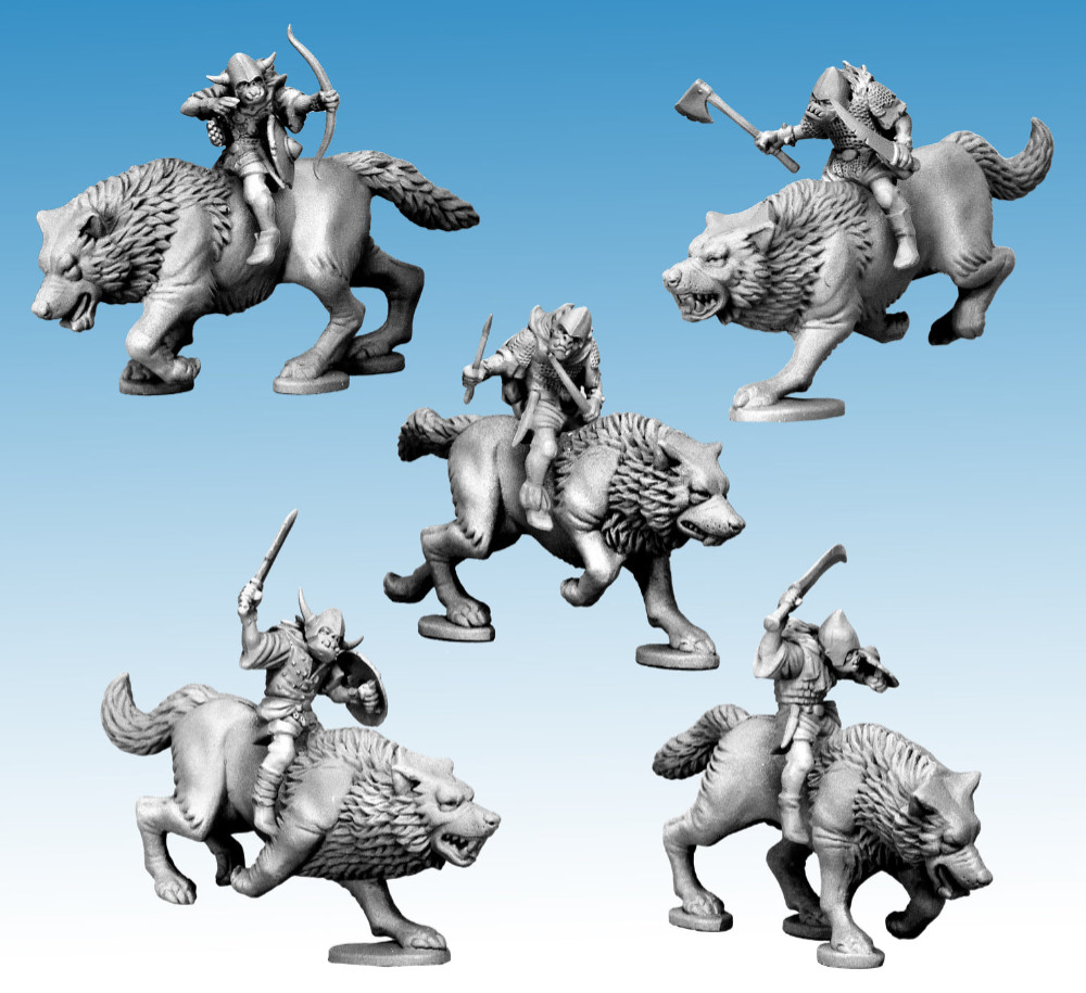 Plastic Oathmark Goblin Riders by North Star Military Figures and Osprey Games
