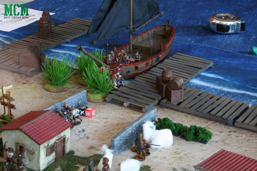 Blood and Plunder Miniature Wargaming Battle Report