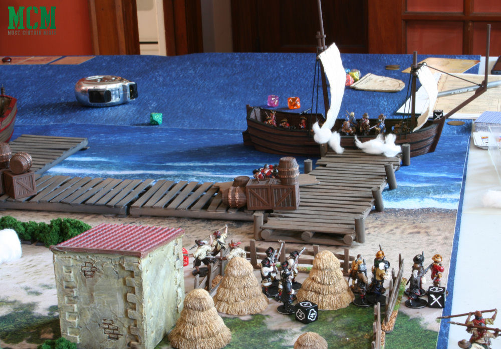 Blood and Plunder After Action Report - Historical Wargaming in the age of Pirates