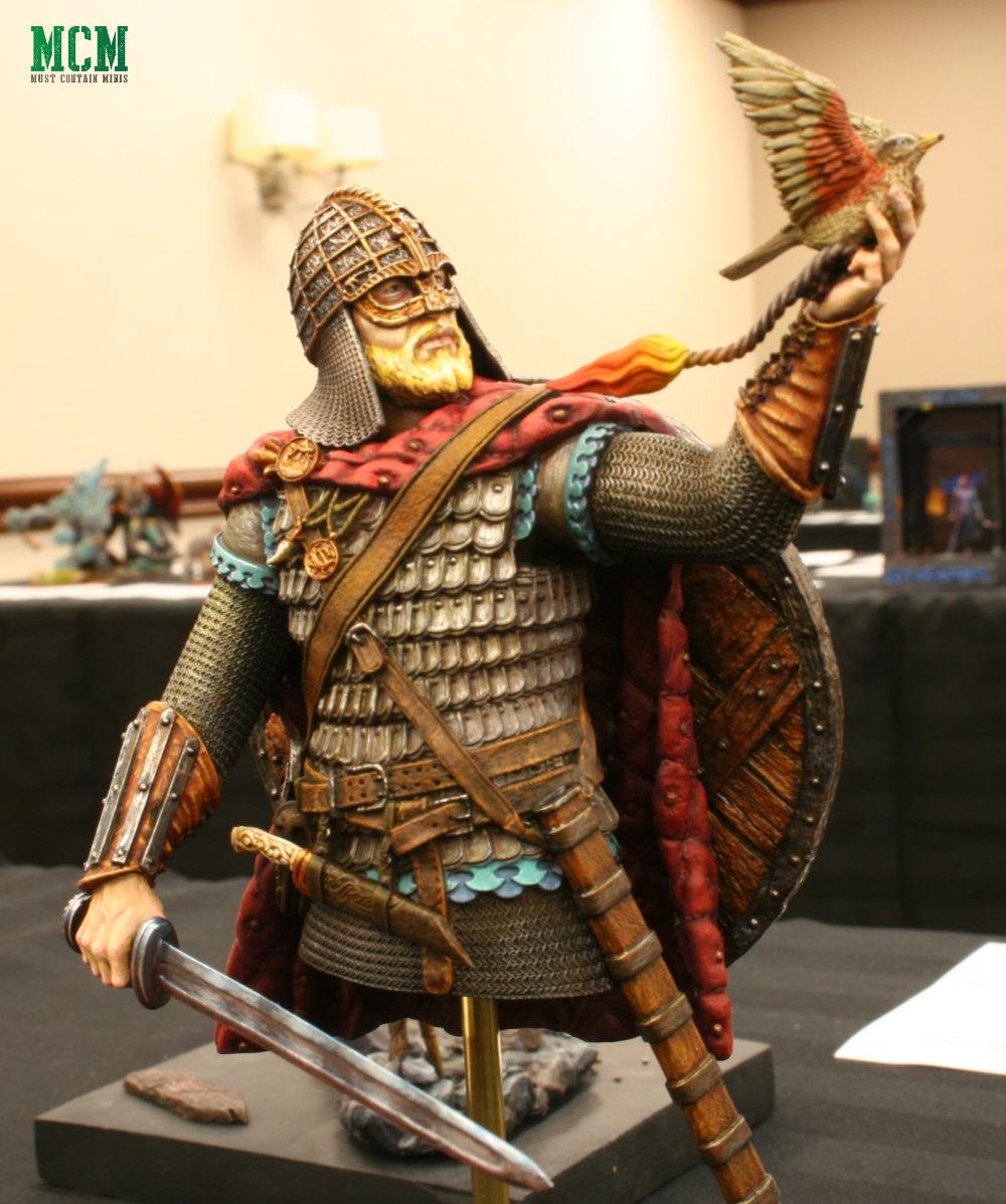 The Last Viking - Miniature Bust well painted