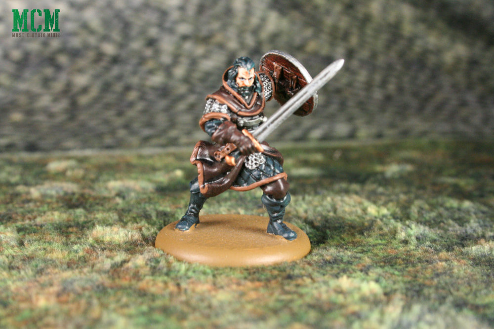 Bronn Miniature from Game of Thrones - Song Of Ice and Fire Independent Miniatures