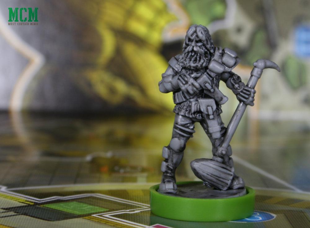 Wulf Sternhammer Miniature - Judge Dredd Board Game