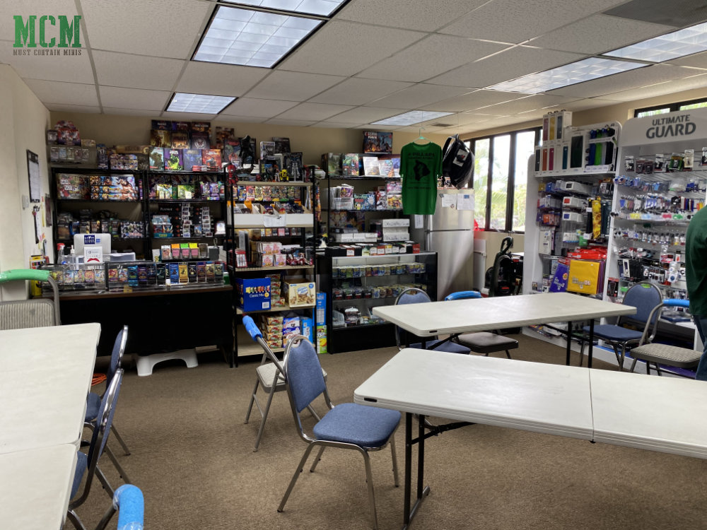Game Store in Hawai'i - Open Gaming Space - Kailua Kona