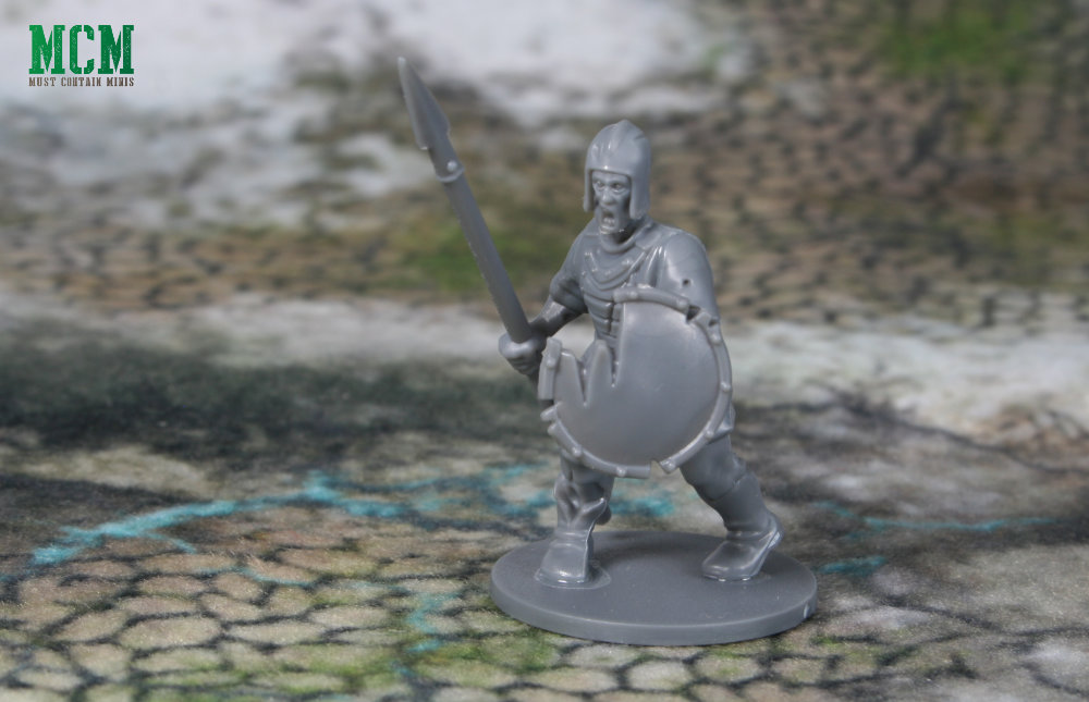 Living Dead Warriors Review - 28mm Zombie Spearman - Forgotten World - Fireforge Games