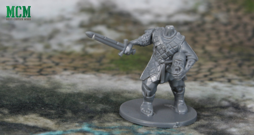 Undead Soldier carrying his own head - 28mm miniature