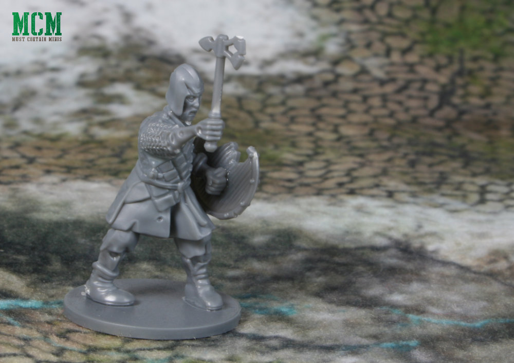 28mm Undead Warrior Miniature - Zombie Warrior