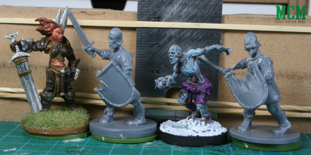 Scale Comparison - Fireforge Games vs Reaper Miniatures vs Mantic Games