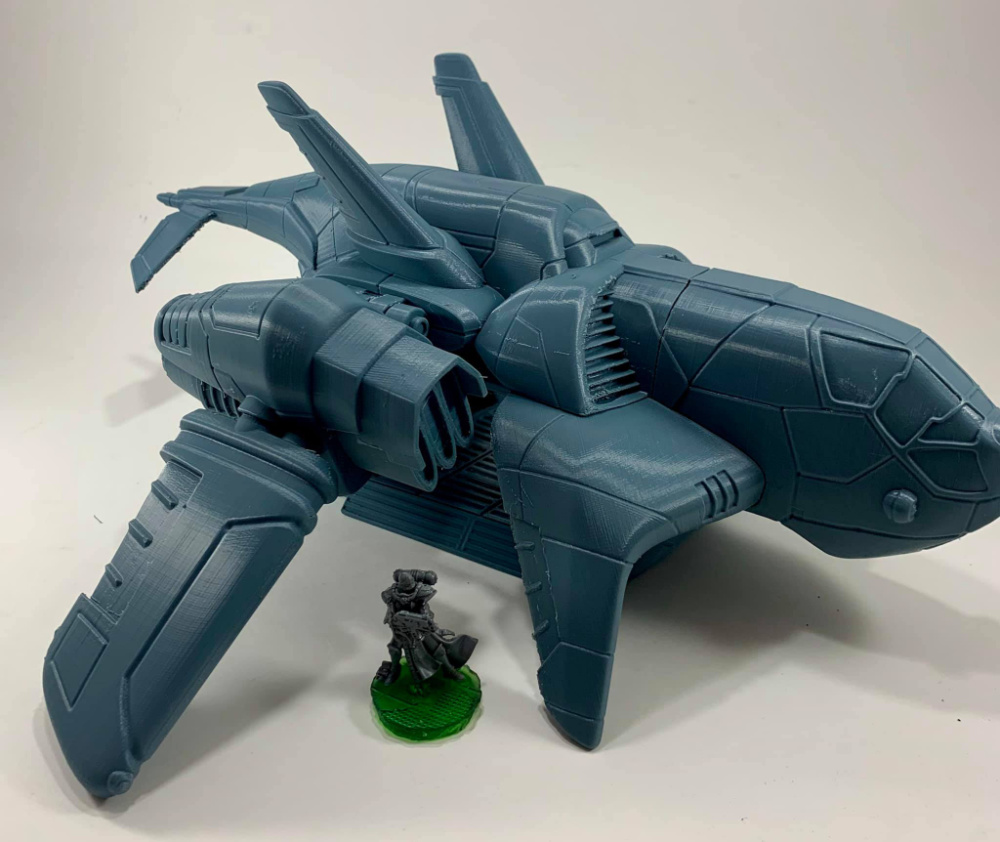 3D Printed Troop Carrier
