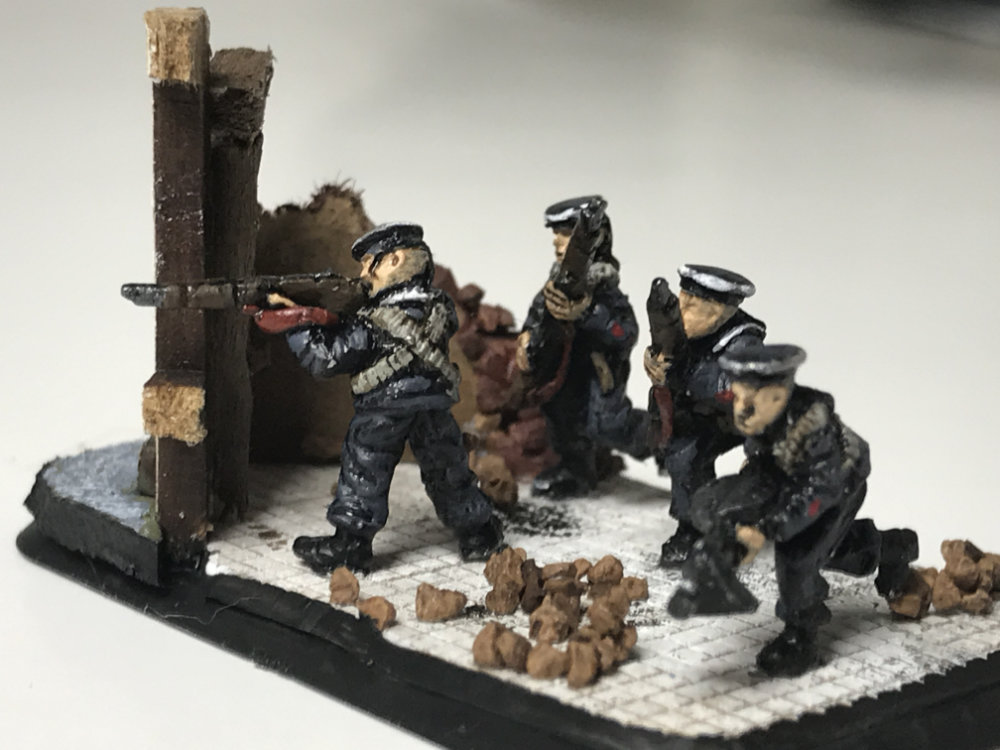 Strelkovy city defenders - Flames of War