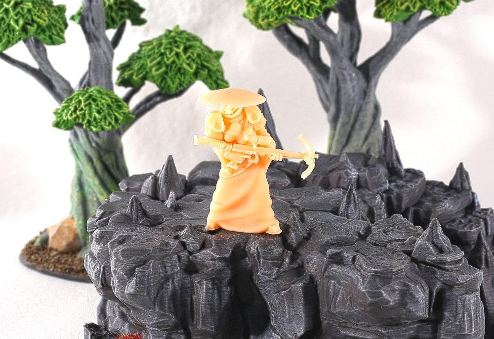3D Printer STL file miniature by RM Printable Terrain