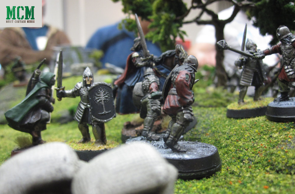 Middle-Earth Strategy Battle Game Miniature Battle - Games Workshop Miniatures for Lord of the Rings in battle