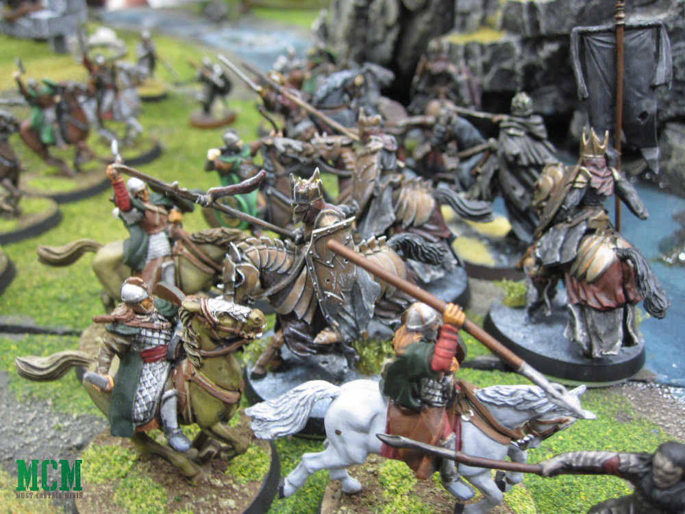 Middle-Earth Strategy Battle Game Battle Report / Lord of the Rings After Action Report - AAR