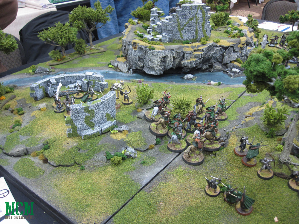 Lord of the Rings Middle-Earth Strategy Battle Game Report / AAR