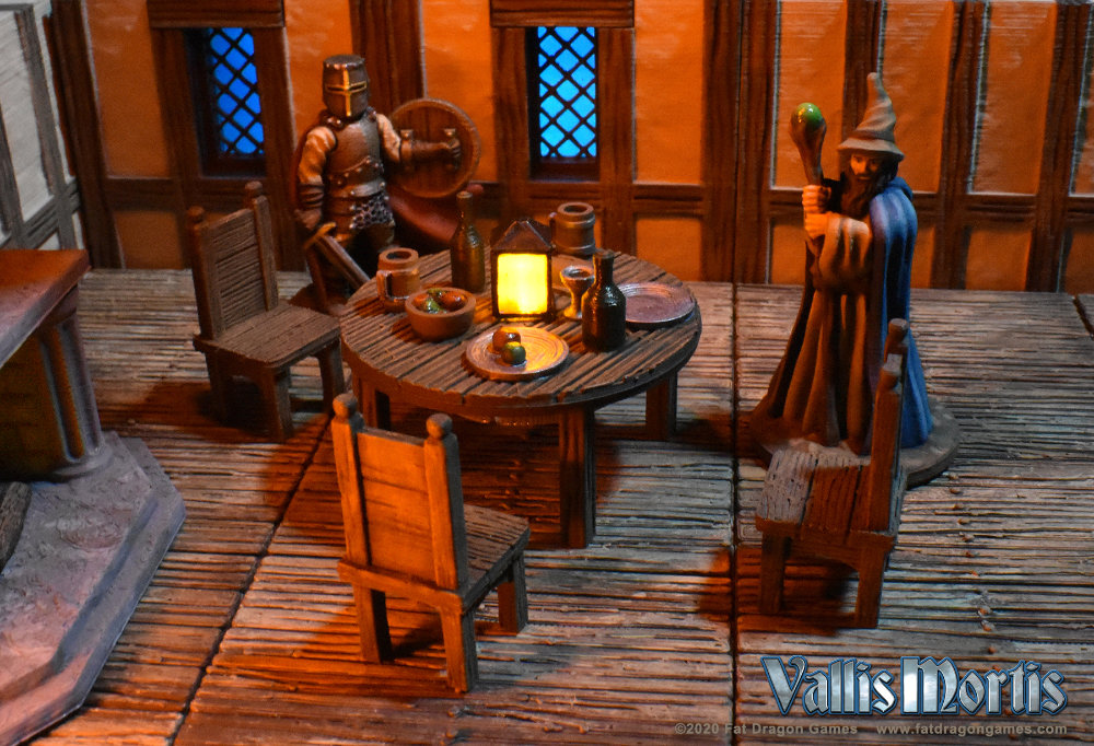 Heroes in a Tavern. Dungeons and Dragons in 3D.