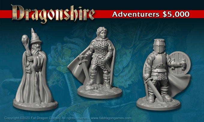 Dragonshire STL file miniatures