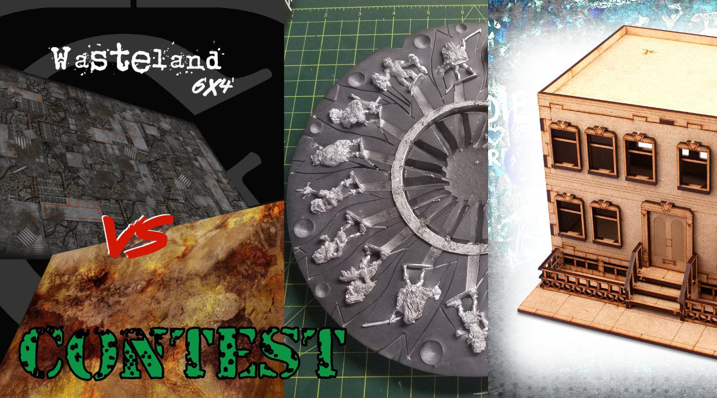 Cardboard Dungeon Games Contest