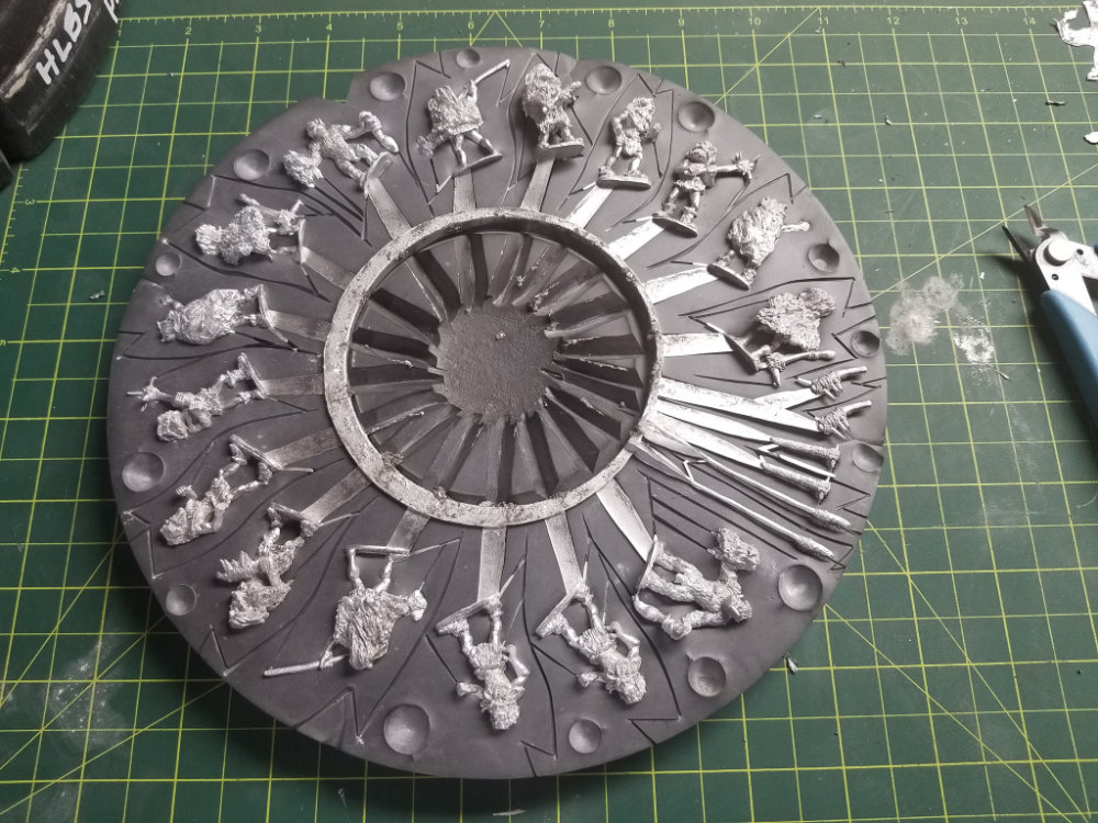 8 of these miniatures is a potential prize from Cardboard Dungeon Games Contest - Charity Raffle