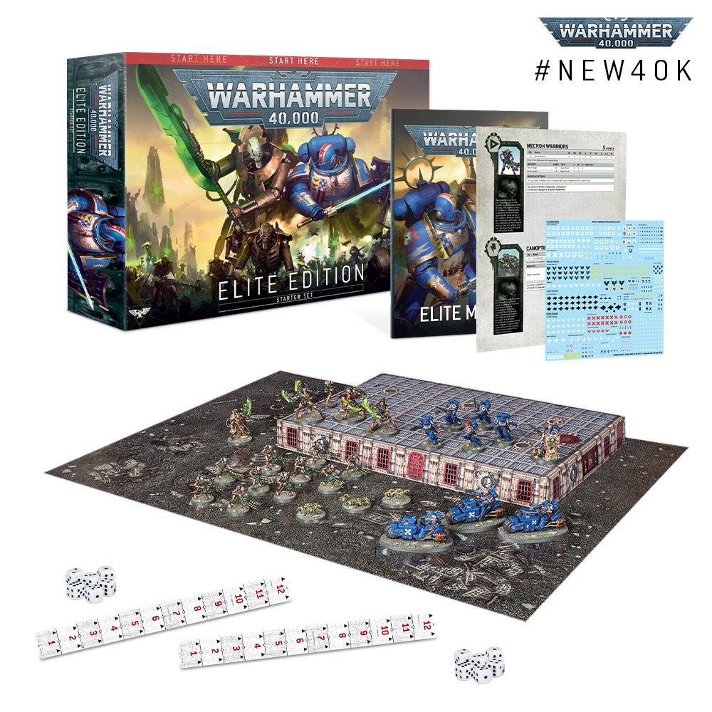 Elite Starter Set for Warhammer 40K 9th Edition