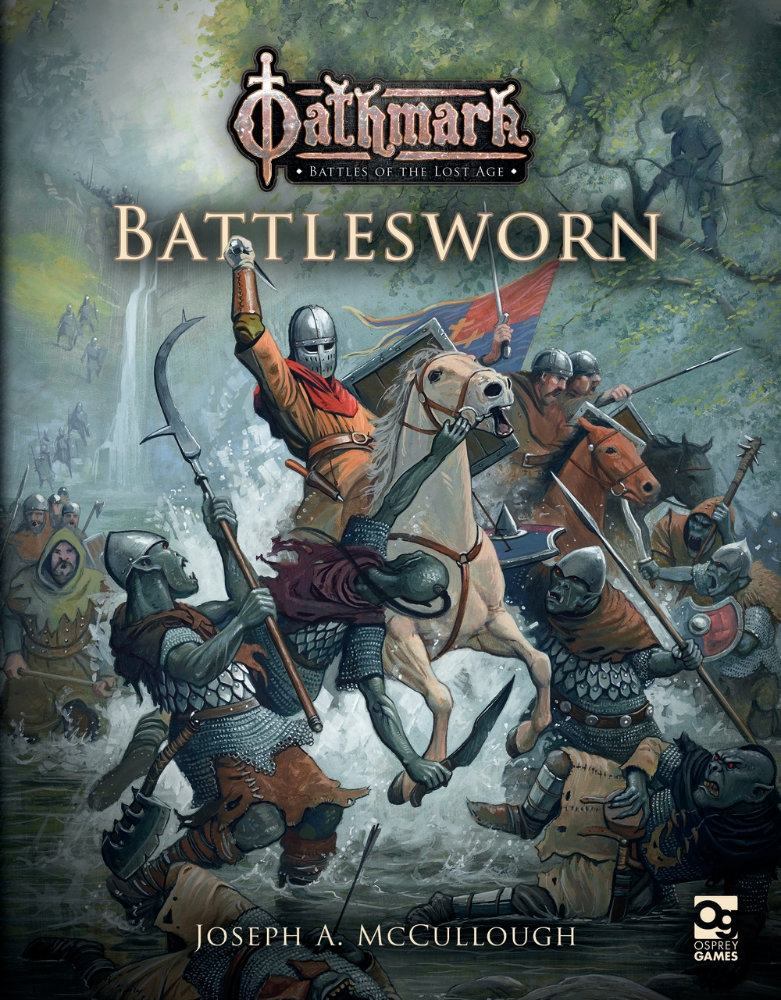 Oathmark: Battlesworn Cover. Post Discusses a contest currently under way for you to win a free copy of this book.