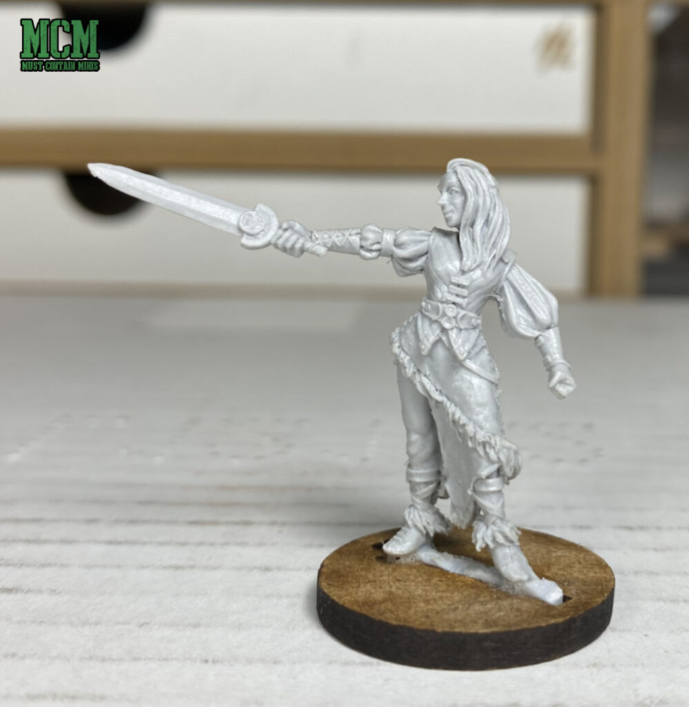 Westfalia Miniatures Review - Coco the Female Human Barbarian