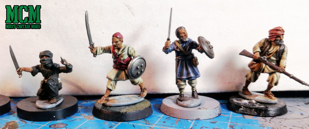 Wargames Atlantic Afghan Warriors Review - Painted Miniatures