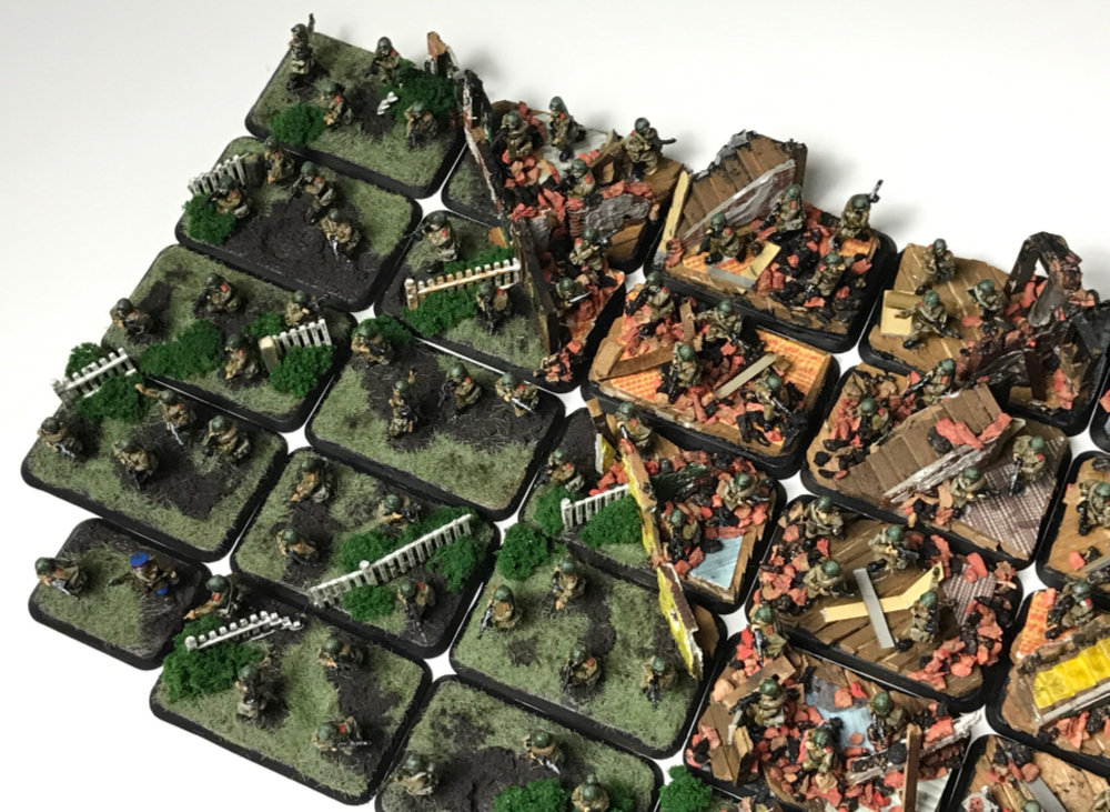 Flames of War Diorama Basing