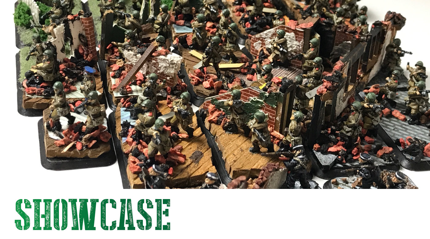 Flames of War Diorama Basing – Russians