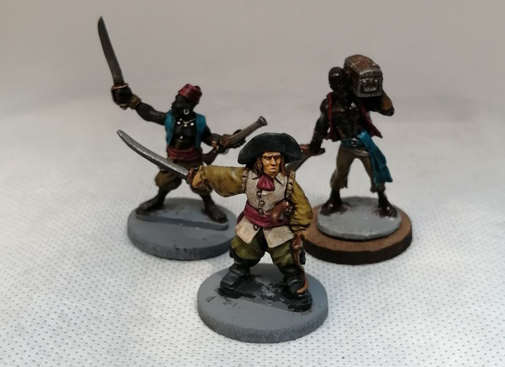 Wargames Foundry Pirates - Cutthroat Characters