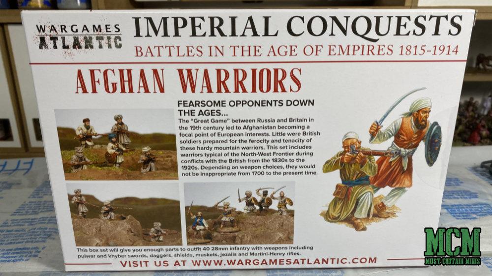 Wargames Atlantic Afghan Warriors Review - Box Art