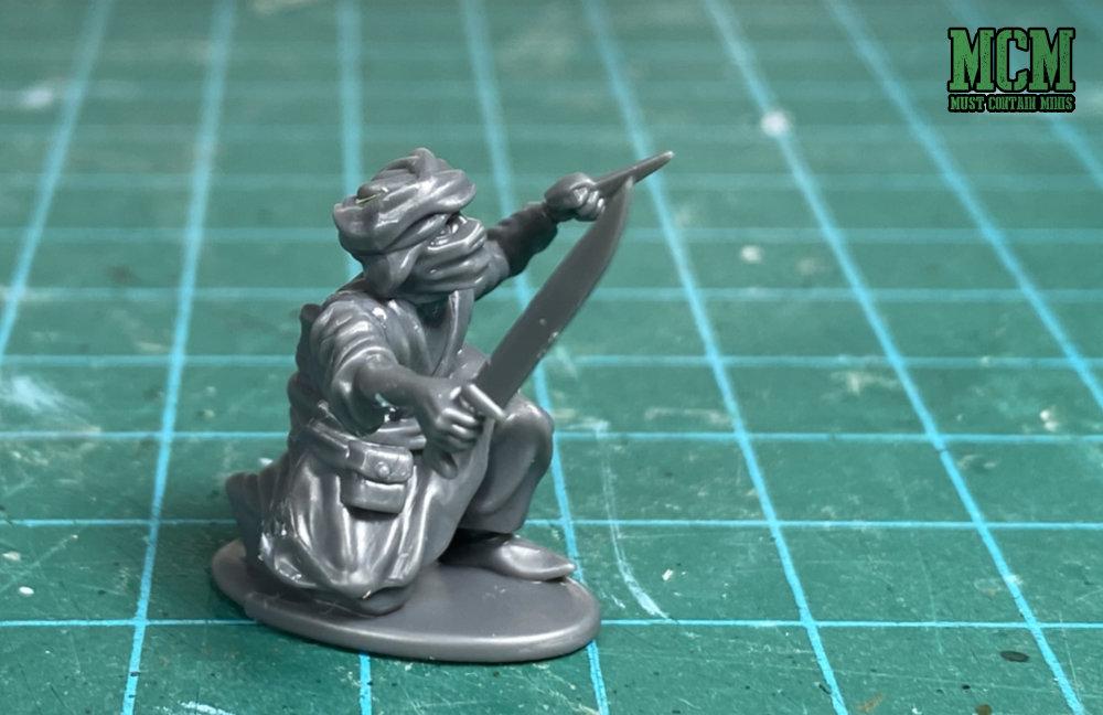 A 28mm plastic Assassin miniature